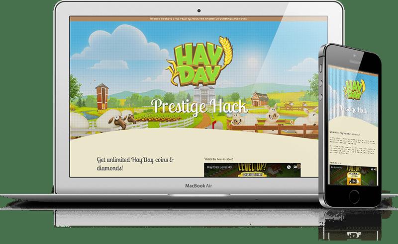 HayDay - CPA Marketing Landing Page   Marketing Rhino