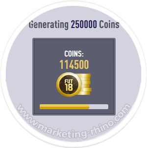 FUT 18 Generator – CPA Marketing Landing Page - Dynamic Count-Up Effect
