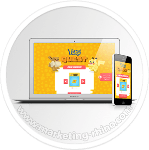 PokeQuest Generator – CPA Marketing Landing Page - Fully Responsive Design