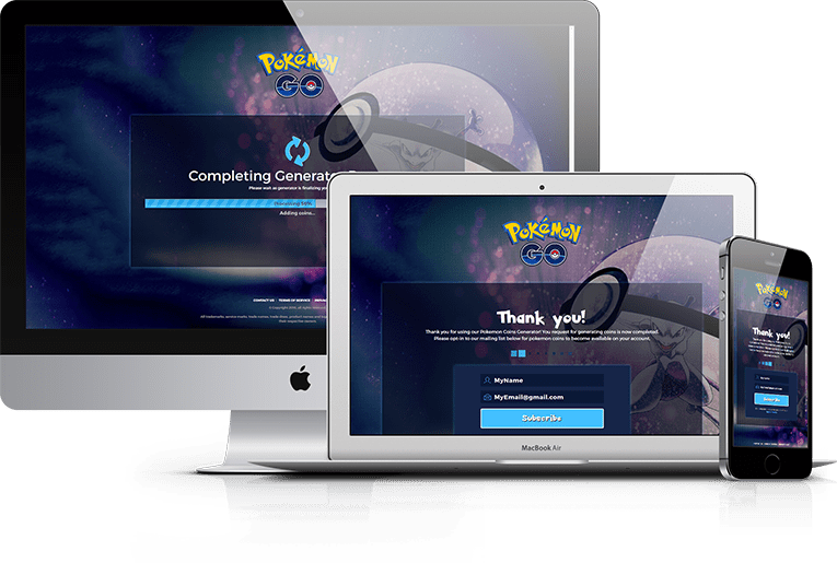 poke go thank you page email opt in landing page marketing rhino