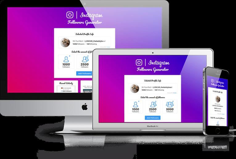 IG Followers V2 – CPA Marketing Landing Page