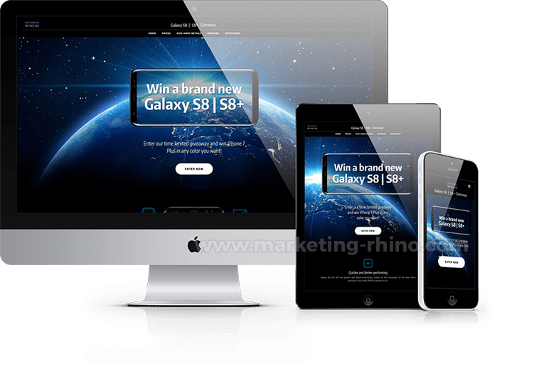 Phone GiveAway V2 – CPA Marketing Landing Page