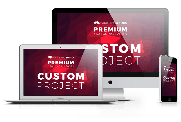 Custom Project Service – Landing Page Development – Standard