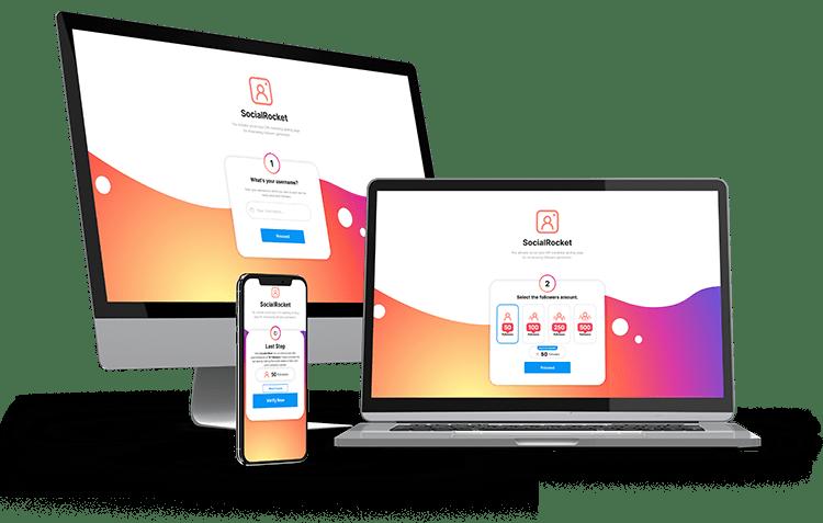 IG – SocialRocket – CPA Marketing Landing Page